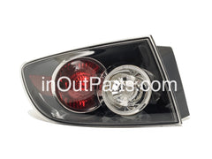 fits MAZDA 3 / AXELA 2006 2007 2008 4D Rear Lamps Tail Lights Left Side Sedan Only - Inout Parts