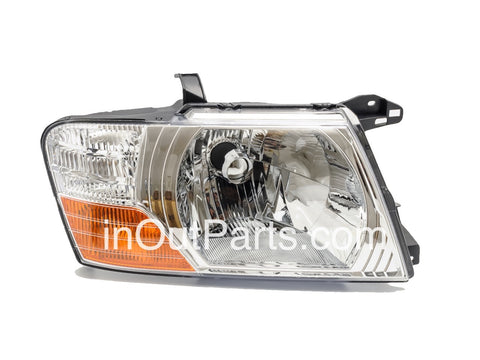 Headlights for MITSUBISHI PAJERO / MONTERO 2003 2004 2005 2006 Right Passenger Side