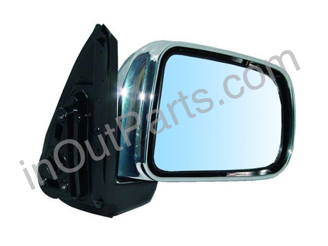 Mirror Right fits HONDA CR-V 1996 1997 1998 1999 2000 2001 Passenger Side - 3 contacts, chrome