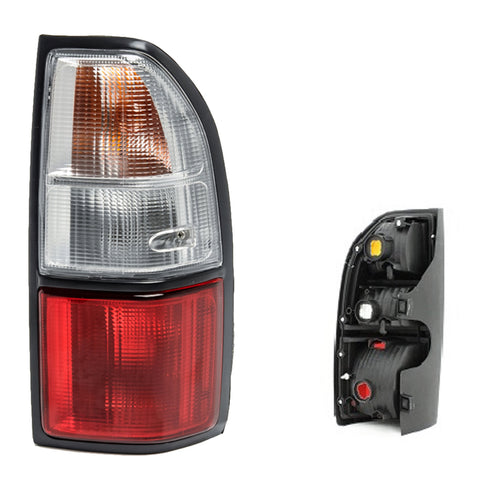 Tail Lights fits TOYOTA Land Cruiser PRADO 90 - 1996 1997 1998 1999 2000 2001 2002 PAIR Rear Lamps LEFT + RIGHT
