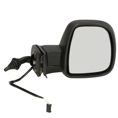 Mirror Right fits CITROEN BERLINGO III / PEUGEOT PARTNER / TEPEE 2008 2009 2010 2011 2012 2013 2014 2015 2016 2017 RIGHT SIDE - 8 contacts, heat, turn, Fold, Temperature