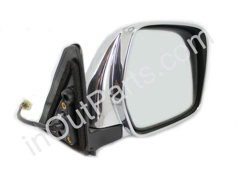Mirror Right for TOYOTA LAND CRUISER PRADO 1996 1997 1998 1999 2000 2001 2002 Adjustment, Heat, 5 Contacts - Chrome