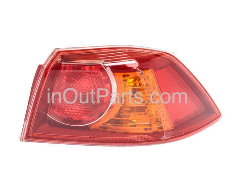 Tail Lights Right Mitsubishi LANCER X 2007 2008 2009 2010 2011 2012 2013 2014 Rear Lamps Side Passenger