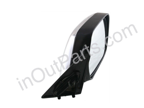 Mirror Right for TOYOTA LAND CRUISER 80 1990 1991 1992 1993 1994 1995 1996 1997 1998 manual level, chrome for LHD