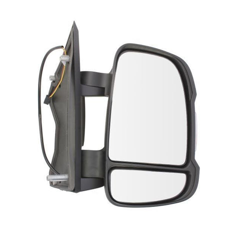 Mirror Right fits CITROEN JUMPER / FIAT DUCATO / PEUGEOT BOXER 2006 - 2 Contacts, Mechanical, Turn