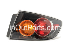fits MAZDA 3 / AXELA 2003 2004 2005 2006 4D Rear Lamps Tail Lights Right Side Sedan Only - Inout Parts