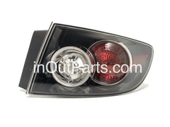 fits MAZDA 3 / AXELA 2006 2007 2008 4D Rear Lamps Tail Lights Right Side Passenger Sedan Only - Inout Parts