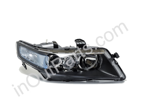 Headlight Right for HONDA ACCORD 2005 2006 2007 2008 Headlamp Passenger Side - for electric leveling Halogen