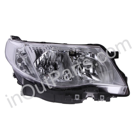 Headlight Right fits SUBARU FORESTER 2008 2009 2010 2011 2012 2013 Headlamp Right Electric Leveling