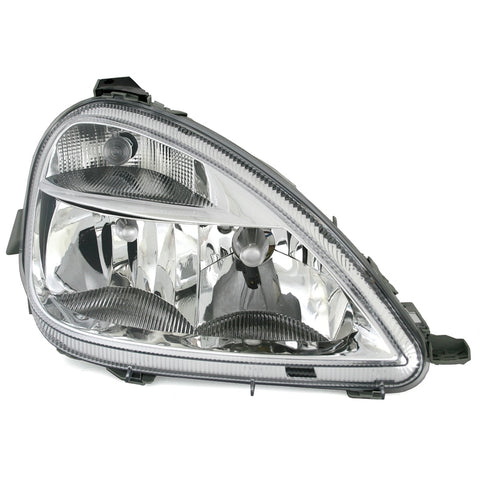 Front Clear Headlights fits Mercedes W168 A-Class 2002 2003 2004 H7/H4 Right Side