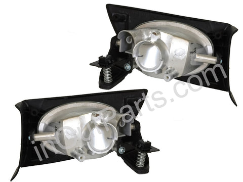 Fog Lights fits HONDA FIT 2001 2002 2003 Clear Driving Lamps Pair