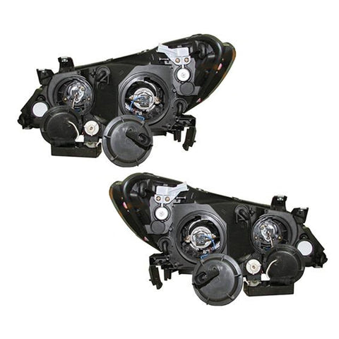 Headlights SET fits HONDA CIVIC 4 Doors 2005 2006 2007 2008 2009 2010 2011 Headlamp PAIR TUNING LED