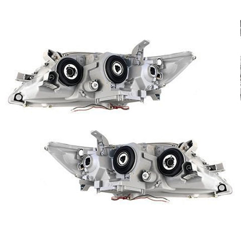 Headlights Set fits TOYOTA CAMRY 2006 2007 2008 2009 Headlamps BLACK TUNING