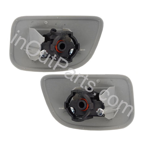 Headlamp Washer Nozzle Cover fits SUBARU FORESTER 2005 2006 2007 2008 Left+ Right Pair For Paint