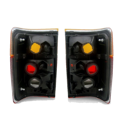 Tail Lights SET fits TOYOTA HILUX / SURF / 4RUNNER 1993 1994 1995 1996 1997 Rear Lamps PAIR