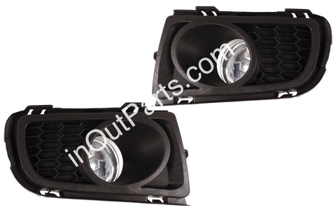 Fog Lights for Mazda 6 2005 2006 2007 - Clear Driving Lamps Pair Quality ATENZA 2005 - 2007