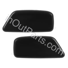 Headlamp Washer Nozzle Cover fits SUBARU FORESTER 2008 2009 2010 2011 2012 2013 Left+ Right Pair For Paint