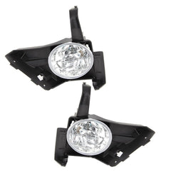 Fog Lights - Clear Driving Lamps fits HONDA CR-V 2003 2004 2005 2006 Pair Quality - Inout Parts