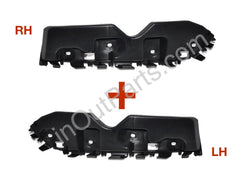Bumper Retainer fits RENAULT DUSTER 2010 2011 2012 2013 2014 2015 2016 Front Left & Right Support Bracket SET Left + Right PAIR - Inout Parts