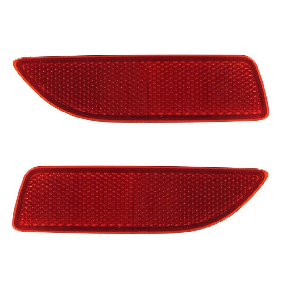 1 Pair Rear Bumper Left Right Lamp Reflector Red Fit For Toyota Corolla 11 12 13