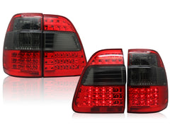 Tail Lights TOYOTA LAND CRUISER 100 1998 1999 2000 2001 2002 2003 2004 2005 2006 2007 PAIR Smoke Set