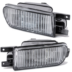 Fog Lights - Clear Driving Lamps fits AUDI 100 1990 1991 1992 1993 1994  Pair Quality - Inout Parts