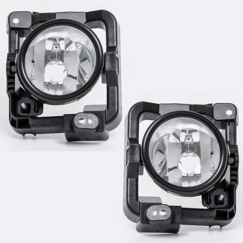 Fog Lights fits HONDA ACCORD 2008 2009 2010 Clear Driving Lamps Pair Quality