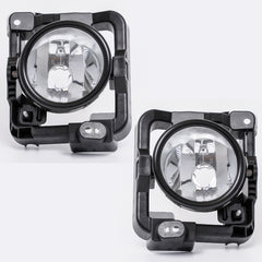 Fog Lights fits HONDA ACCORD 2008 2009 2010 Clear Driving Lamps Pair Quality - Inout Parts