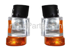 fits MITSUBISHI FUSO 1993 - 2000 Truck Turn Signal Light Marker Parking Corner PAIR - Inout Parts