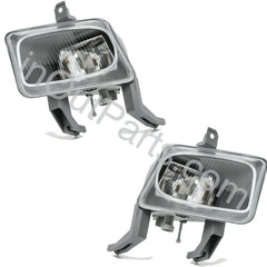 Fog Lights OPEL VECTRA B 1995 1996 1997 1998 - Driving Lamps Pair - Inout Parts