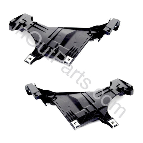 Retainer Support Bracket for Headlight for Audi A4 2011 2012 2013 2014 2015 Left+Right Pair
