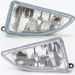 Fog Lights fits Ford Focus 1998 1999 2000 2001 Clear Driving Lamps Pair - Inout Parts