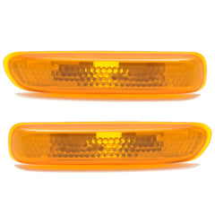 Side Marker PAIR Indicator Turn Signal Light fits BMW E46 1998 1999 2000 2001 PAIR