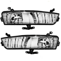 Fog Lights for Hyundai ACCENT 2006 - 2010 Clear Driving Lamps Pair 922011E000 - Inout Parts