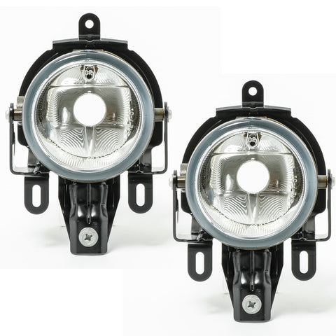 Fog Lights fits Mitsubishi PAJERO / MONTERO 2003 2004 2005 2006 Clear Driving Lamps Pair Quality SUPER
