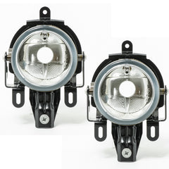 Fog Lights fits Mitsubishi PAJERO / MONTERO 2003 2004 2005 2006 Clear Driving Lamps Pair Quality SUPER - Inout Parts