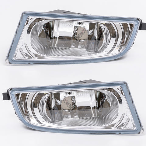 Fog Lights fits Honda CIVIC 4 Doors 2005 2006 2007 2008 - Clear Driving Lamps Pair Quality Sedan