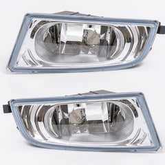 Fog Lights fits Honda CIVIC 4 Doors 2005 2006 2007 2008 - Clear Driving Lamps Pair Quality Sedan - Inout Parts