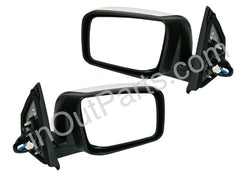 Mirrors for NISSAN QASHQAI, DUALIS 2006 - 2014 Heated, 5 wire, change pairs only, for paint