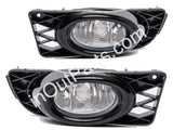 Fog Lights Pair fits Honda CIVIC 2008 2009 2010 2011 - Clear Driving Lamps Quality - SET