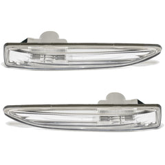 Side Marker PAIR Indicator Turn Signal Light for BMW E65 / E66 2001 2002 003 2004 2005 2006 2007 2008 - White