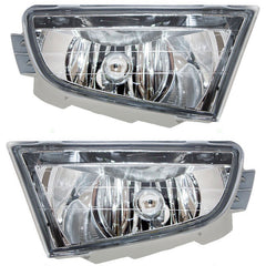 Fog Lights fits Acura MDX 2001 2002 2003 2004 2005 2006 - NEW Clear Driving Lamps Pair 33951S3VA01 - Inout Parts