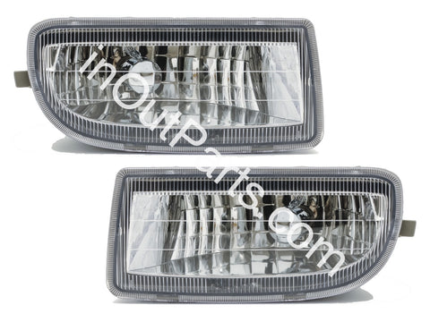 Fog Lights fits Toyota Land Cruiser 100 HDJ100 1998 1999 2000 2001 2002 2003 - 2007 LC 100 105 Driving lamps Pair Left + Right