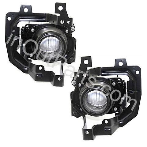 Fog Lights Pair fits MITSUBISHI LANCER CEDIA 2000 2001 2002 2003 / LANCER 2003 2004 2005 2006 2007 Driving Lamps Left + Right