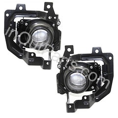 Fog Lights Pair fits MITSUBISHI LANCER CEDIA 2000 2001 2002 2003 / LANCER 2003 2004 2005 2006 2007 Driving Lamps Left + Right - Inout Parts