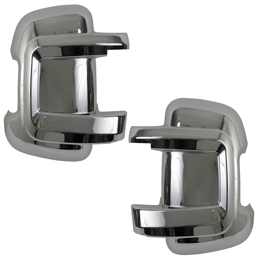 left/&right For Peugeot Boxer wing mirror cover chrome