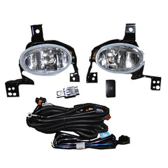 Fog Lights - Clear Driving Lamps fits HONDA CR-V 2007 2008 2009 2010 2011 2012 Pair Quality - Inout Parts