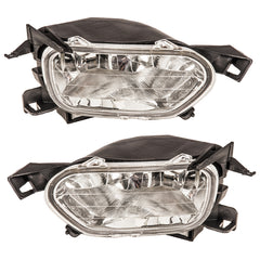 Fog Lights - Clear Driving Lamps fits HONDA CR-V 2001 2002 2003 Pair Quality - Inout Parts