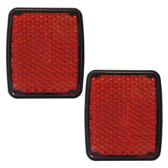 Rear Reflector Lights fits CITROEN JUMPER / FIAT DUCATO / PEUGEOT BOXER 2006 2007 2008 2009 2010 2011 2012 2013 2014 2015 2016 2017 Left + Right Pair