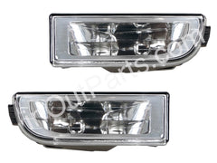 Clear Fog Lights BMW E38 1994 1995 1996 1997 1998 1999 2000 2001 Driving Lamps Pair - Inout Parts